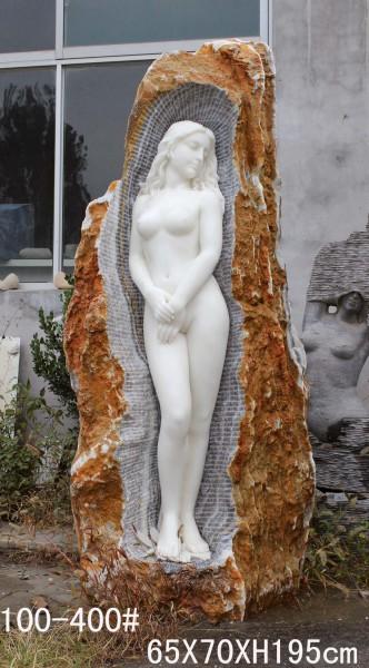 Skulptur White Beauty