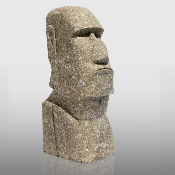 Greenstone Moai Kopf