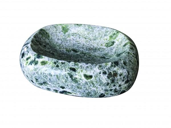 Marmor-Vogeltränke grün Abverkauf