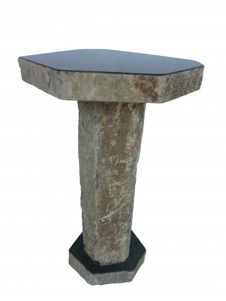 Basalt-Stehtisch