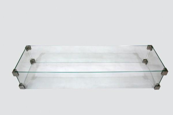 Schutzglas für Feuertisch Bar