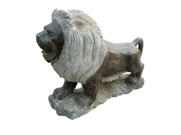 Naturstein-Löwe