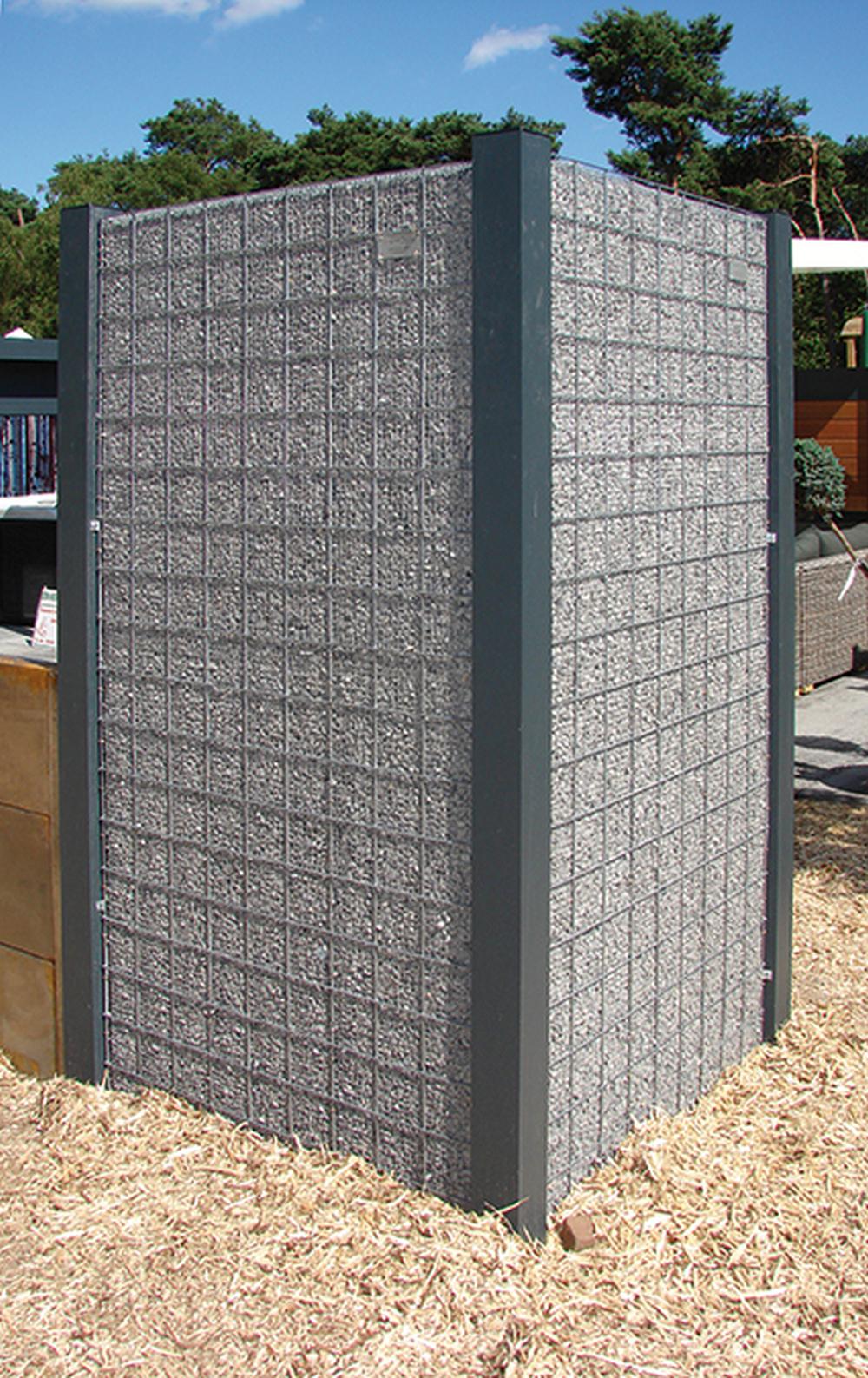 schnellmontageb gel f r gabione splittkorb 089554. Black Bedroom Furniture Sets. Home Design Ideas