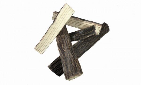 Dekor-Brennholz gespalten