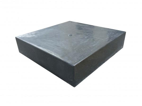 Granit-Wasserspiel Sevilla schwarz, poliert, gebohrt