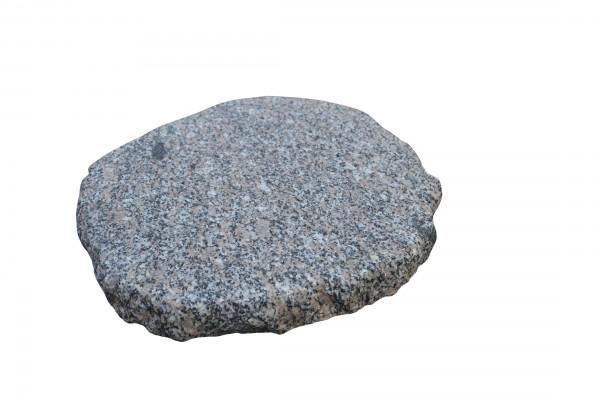 Granit-Trittplatte grau