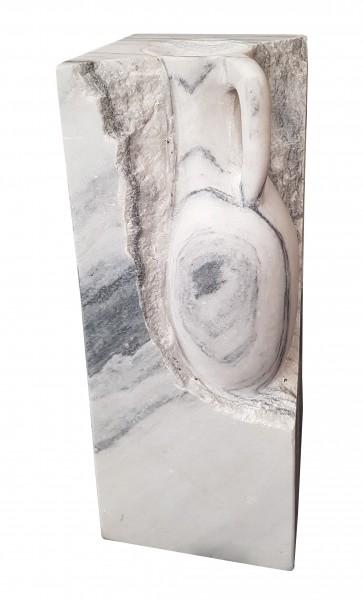 Wassersäule Athena Marmor