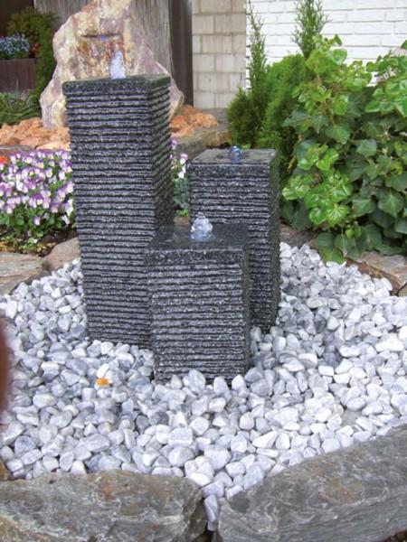 Granit Wasserspiel Flow