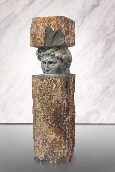"Basalt-Figur ""David"""