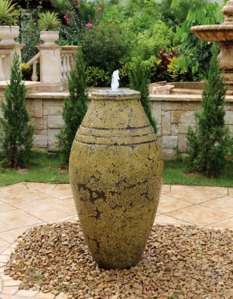 Keramik-Brunnen Atlantis III