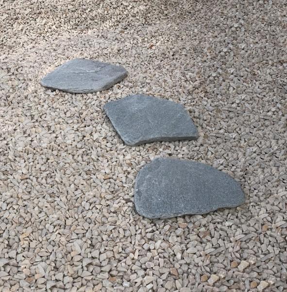Kavala Trittplatten getrommelt