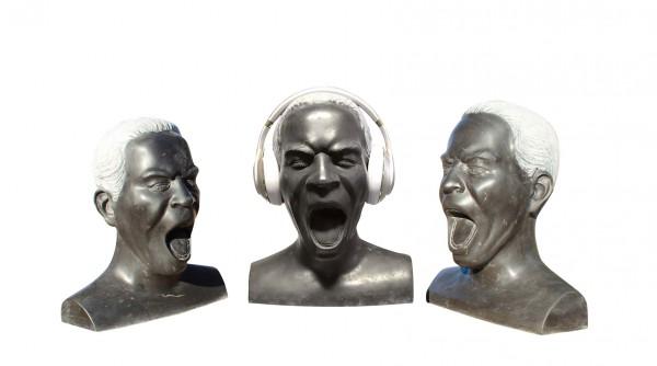 Marmor-Kopf Singing Bob