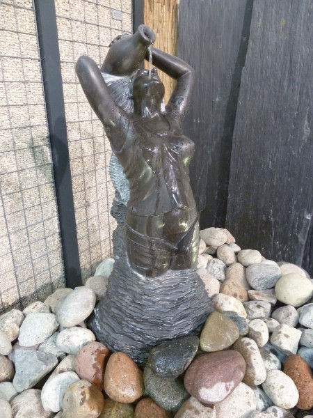 Skulptur-Wasserspiel Tine